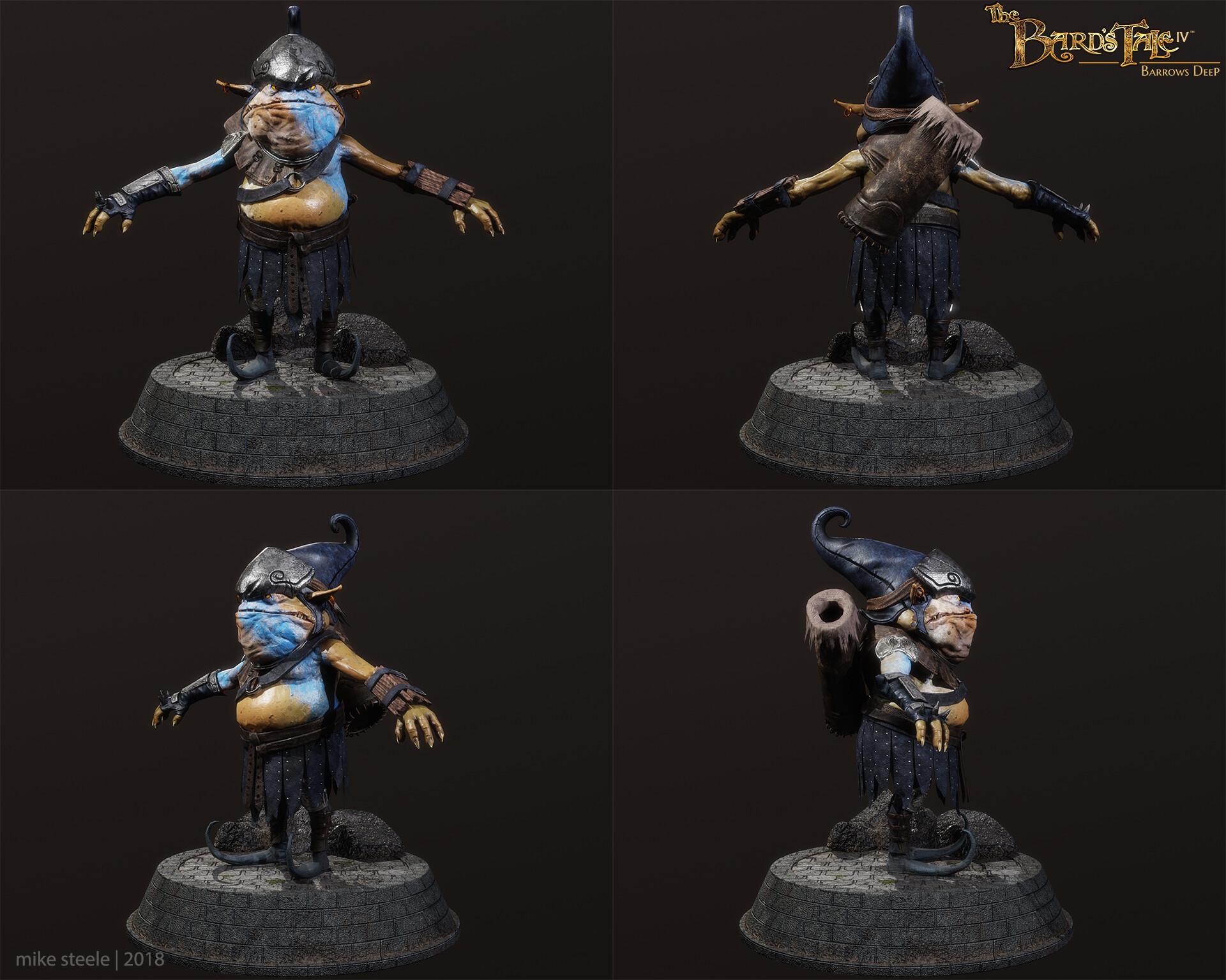 Archer Goblin Turnaround