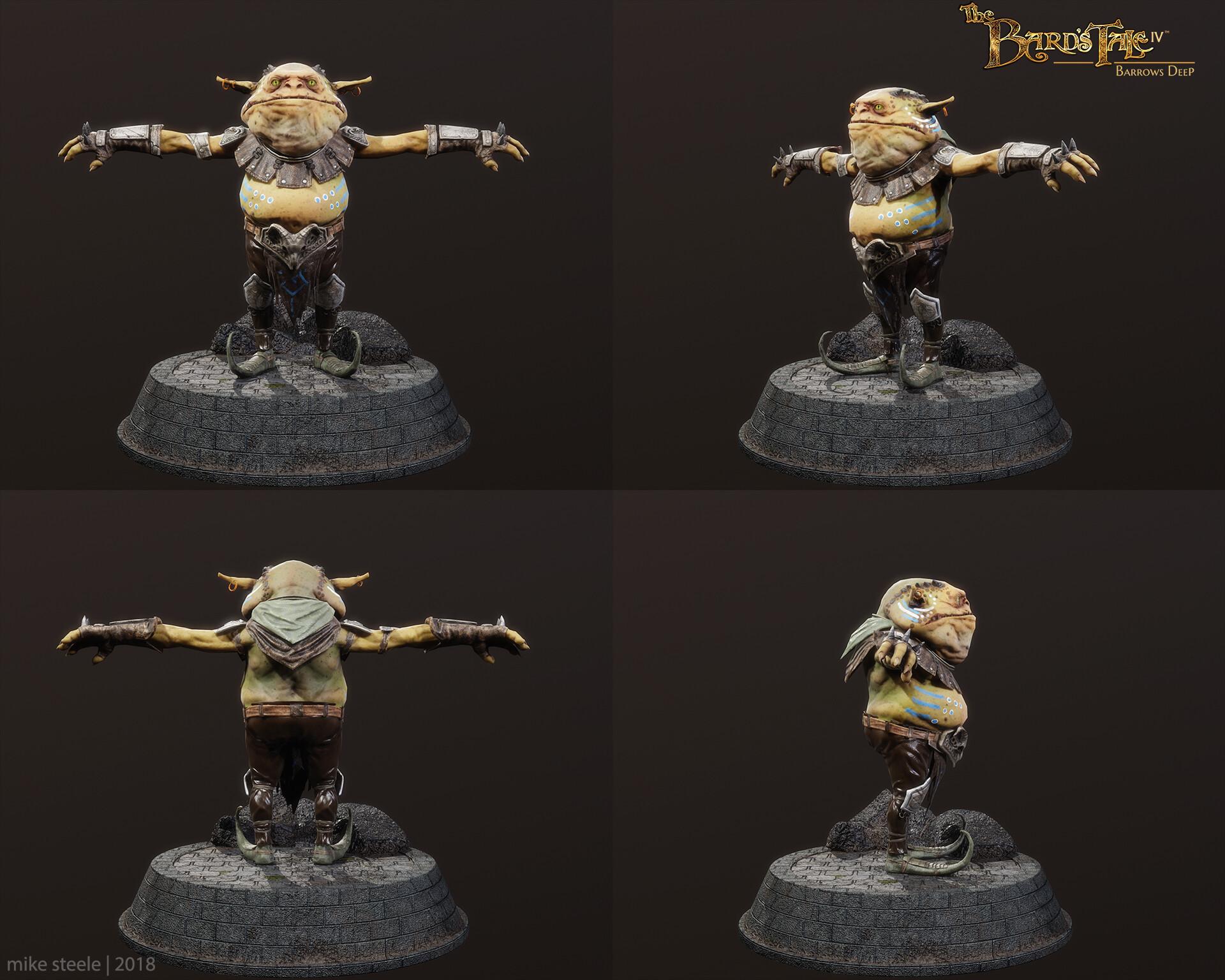 Grunt Goblin Turnaround