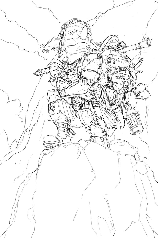 Goblin Explorer sketch