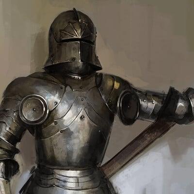 Thomas elliott 015 steel armour study