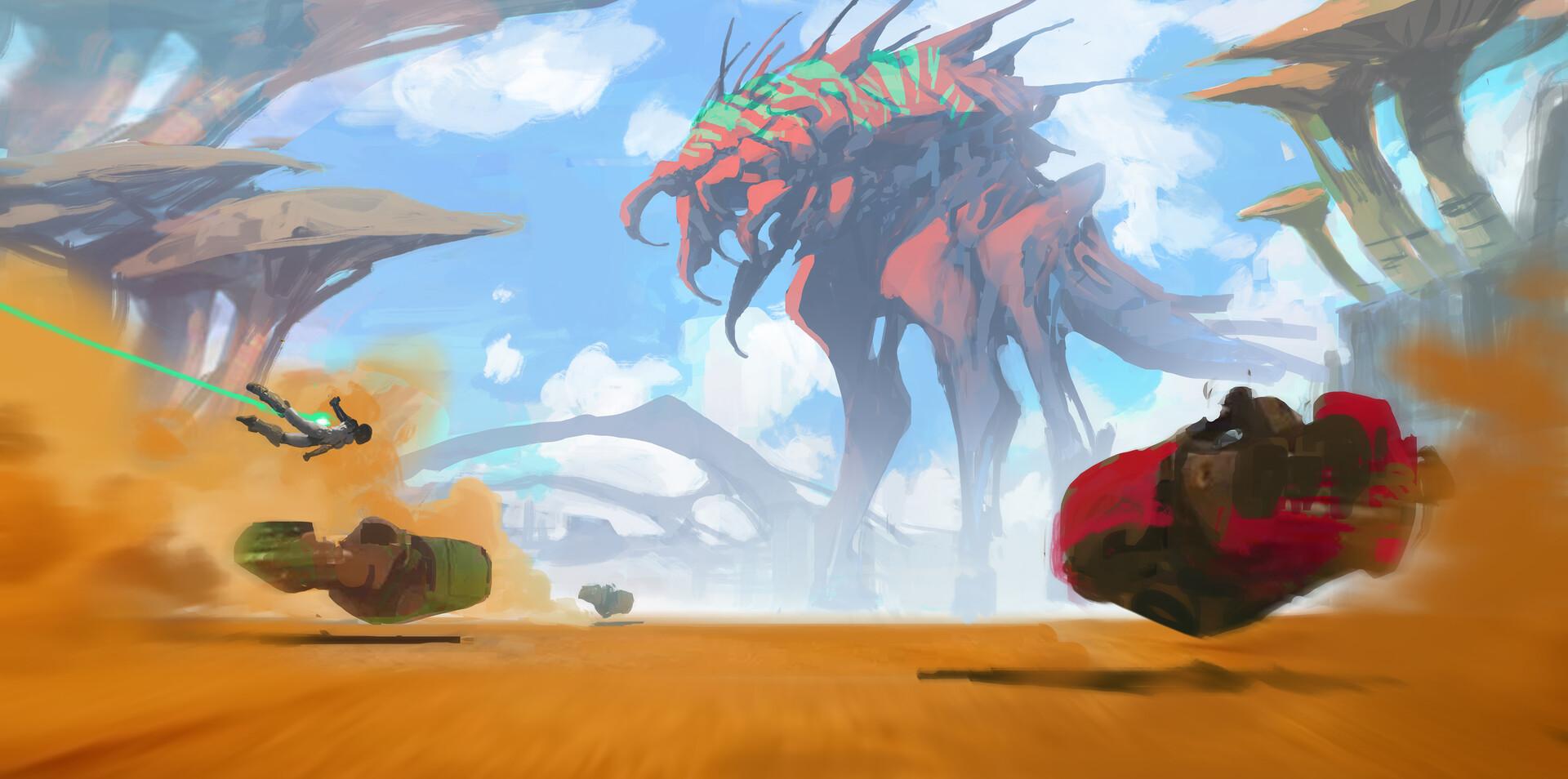 Kory lynn hubbell attackon monster color rough