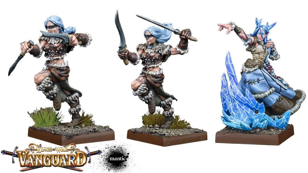 final painted miniatures (from Mantic website)