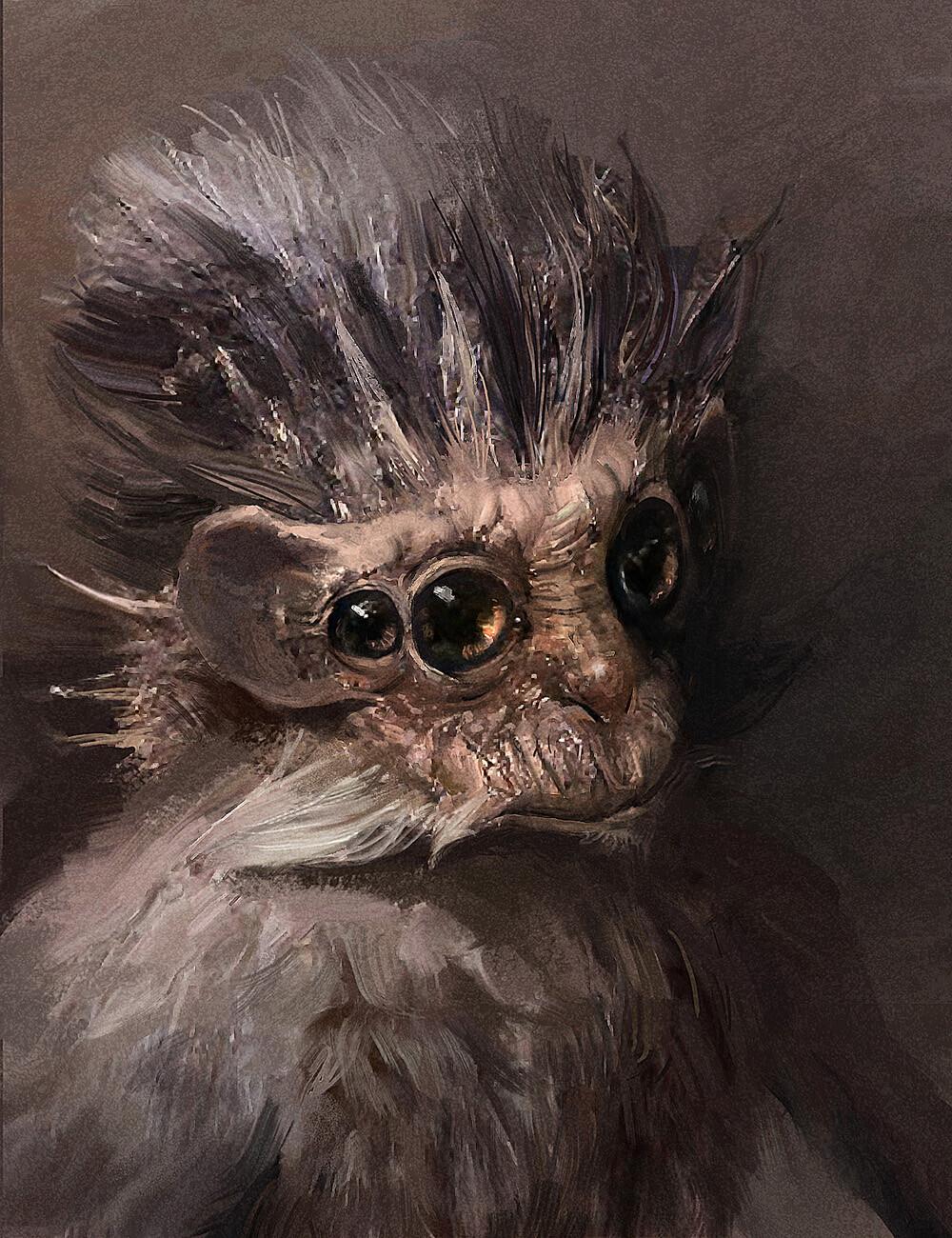 Miro petrov alien monkey