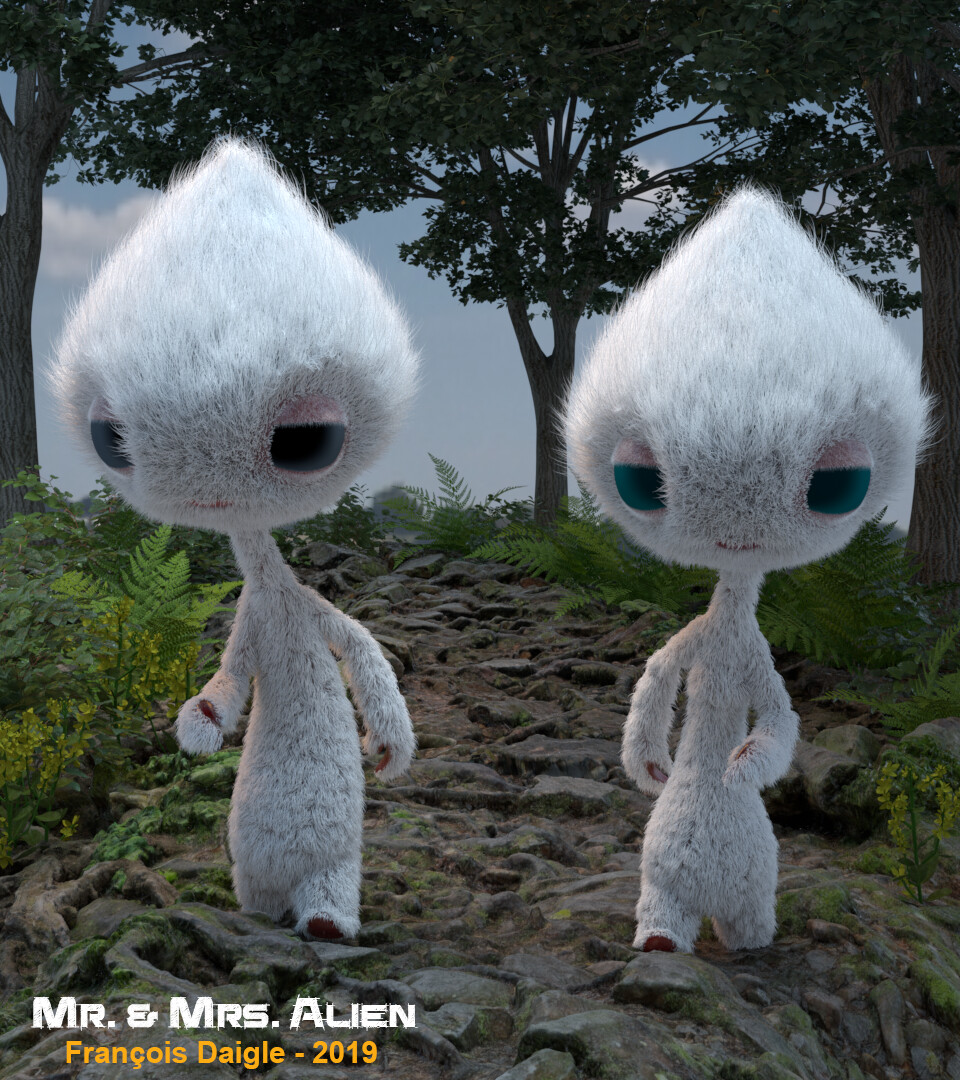 Mr. and Mrs. Alien