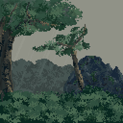 Mo enen bg forest