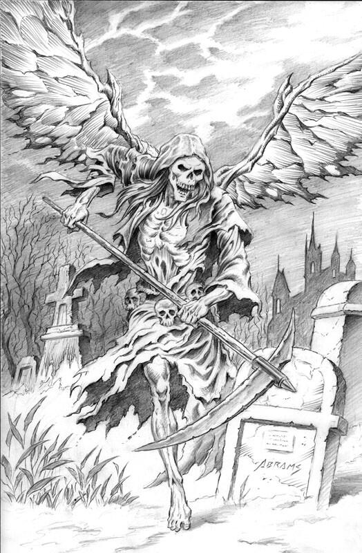 Paul Abrams The Grim Reaper