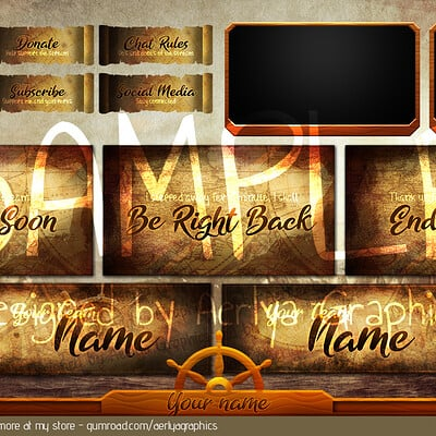 Aerlya graphics revamp pirate sample