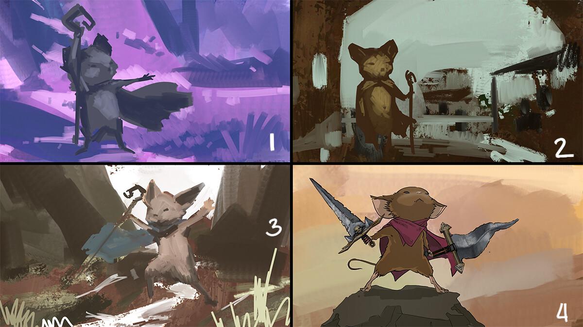 Idea explorations