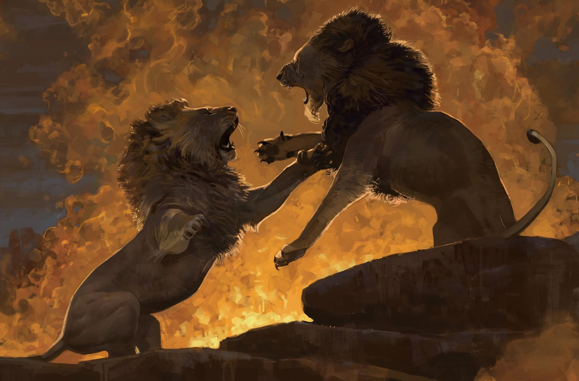 Artstation Art Of The Lion King Faraz Shanyar