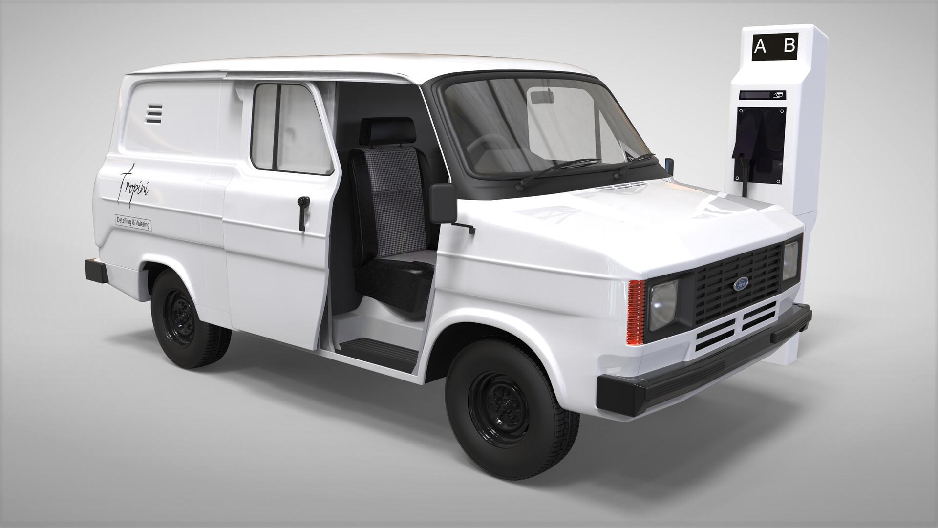 Render V1 - Short wheelbase version