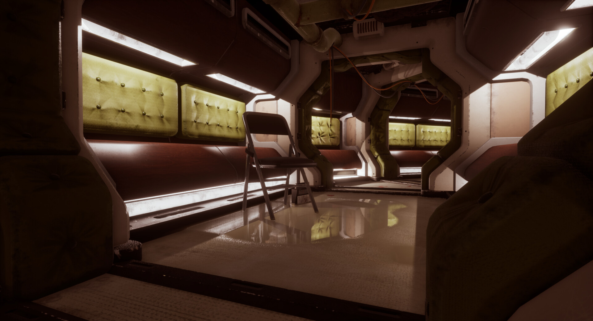 For me, corridors are the sci-fi element you have to nail to give your whole creation a unique identity.