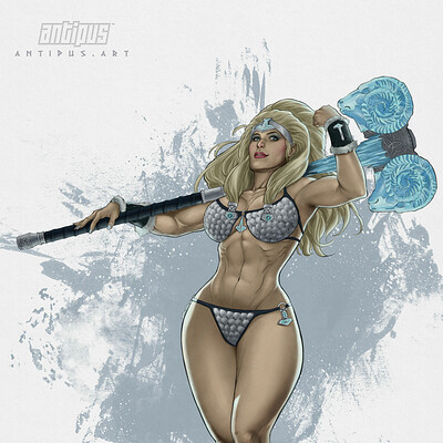 Antiono antipus the ice warrior color 2