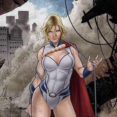 Antiono antipus power girl