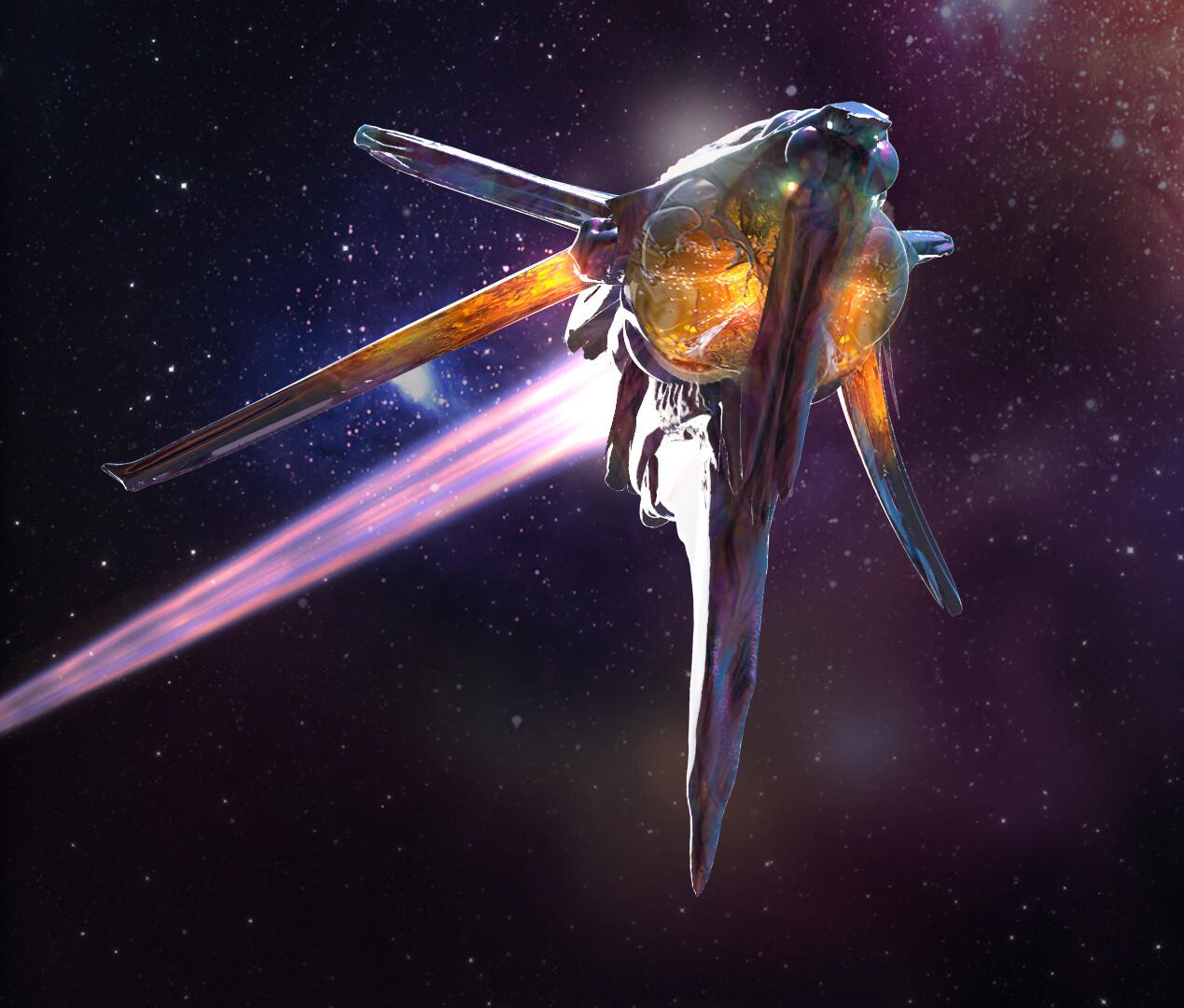 Alien ship _ unannounced project