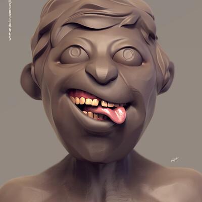 Surajit sen bulty digital sculpture surajitsen jul2019