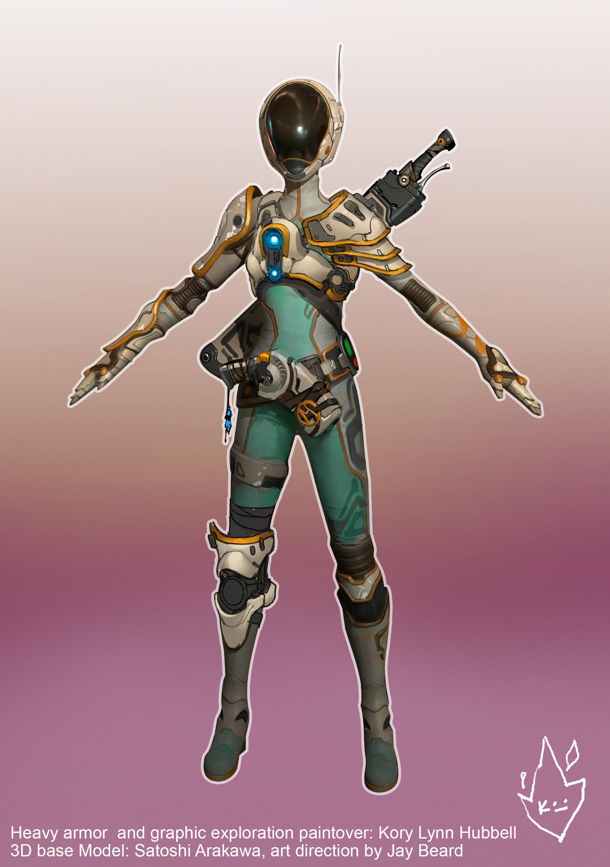 Kory lynn hubbell sculpin armor exploration 3