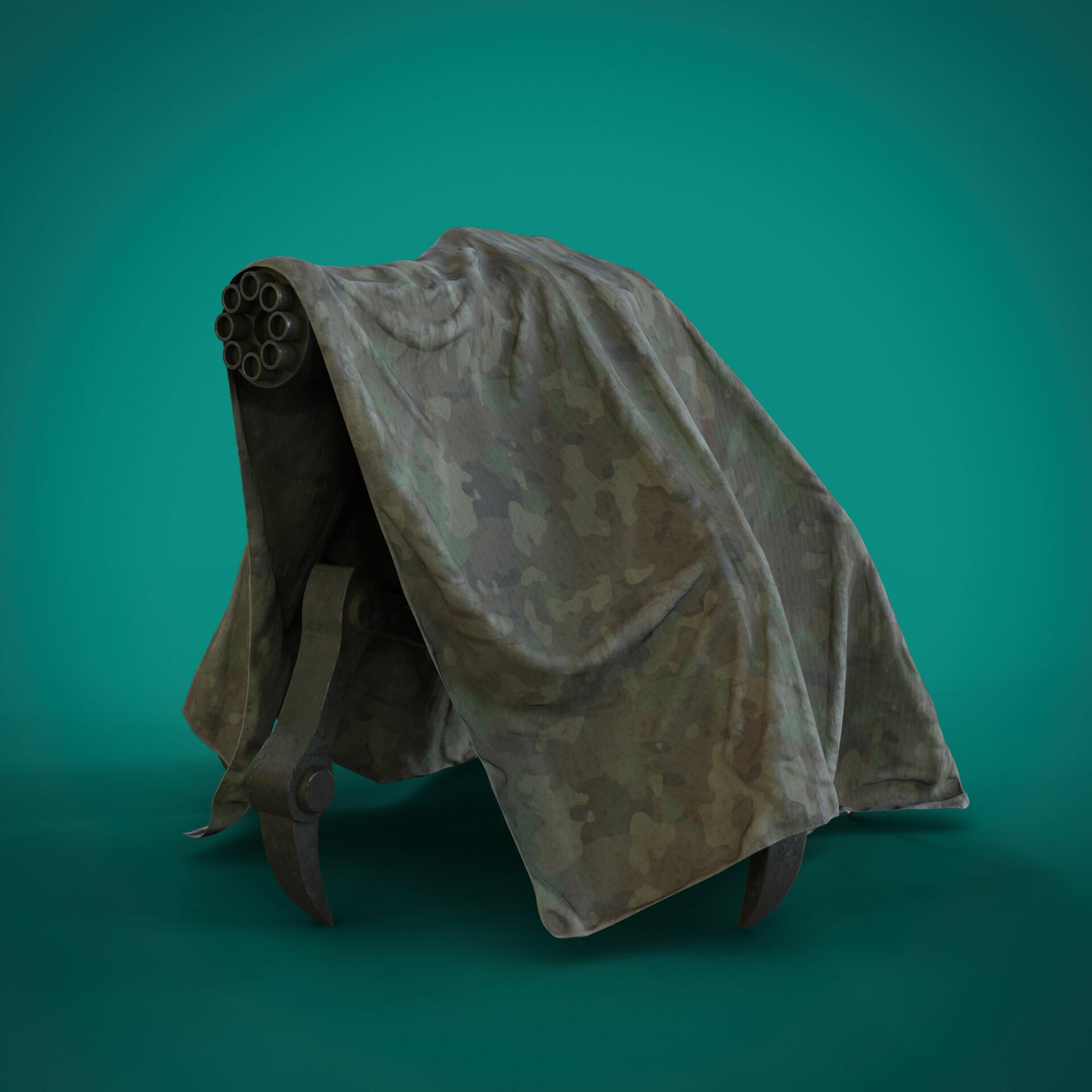 Chaingun mech - Buy Royalty Free 3D model by Hamidreza