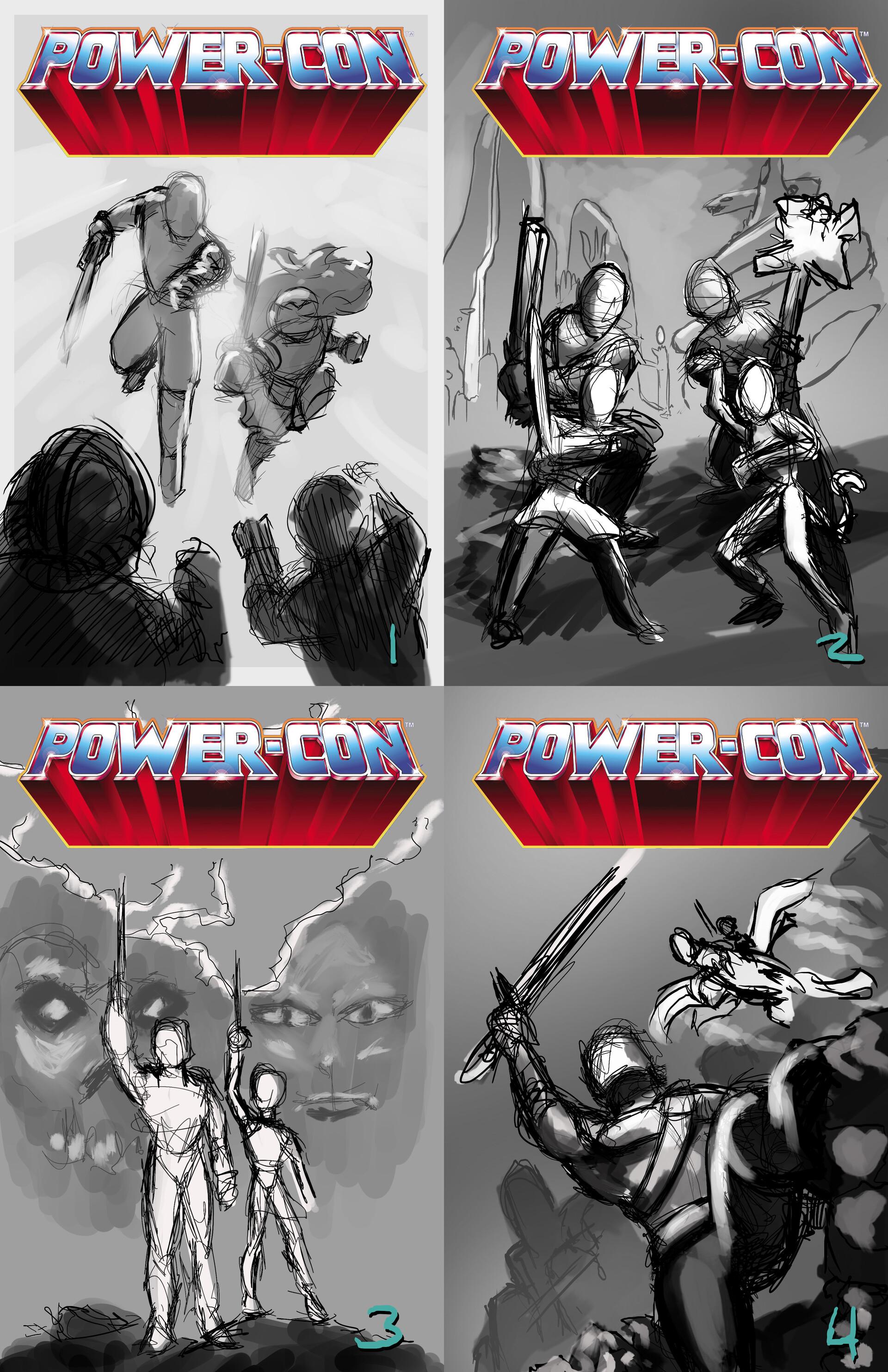 Tony washington powercon cover layouts