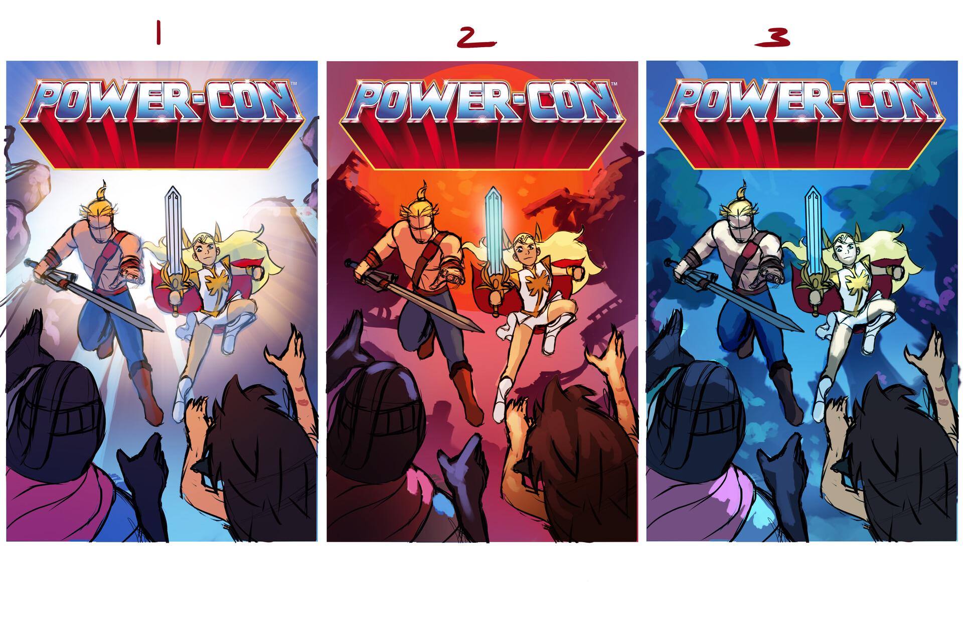 Tony washington powercon cover samples