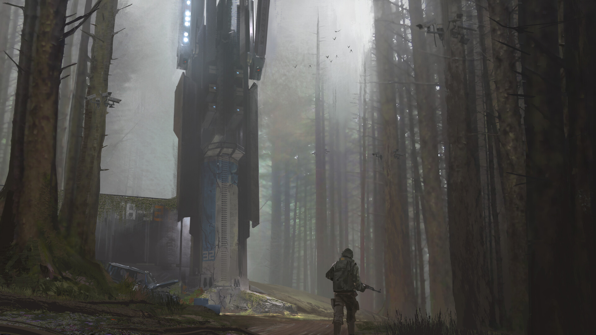 Connor sheehan outpost tower render