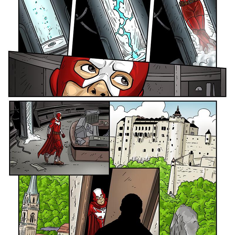 ASH - Austrian Superheroes issue 14 - colour/shades