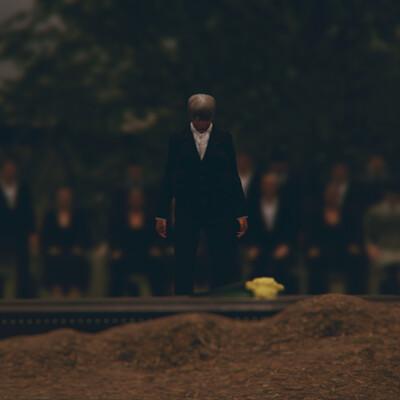 Warren reed shot 60 the funeral
