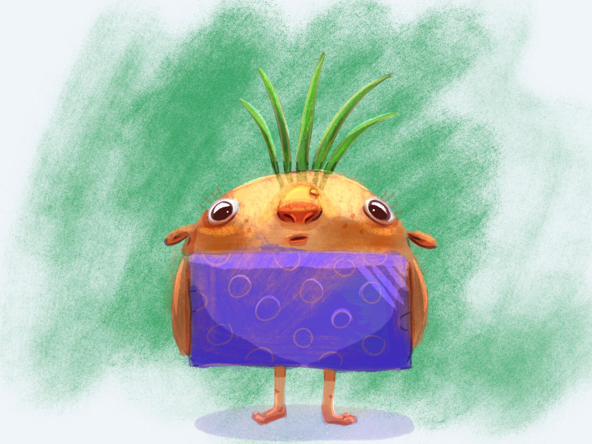 Mccal joy turnip painted