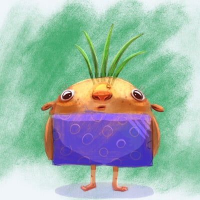 Mccal joy turnip painted