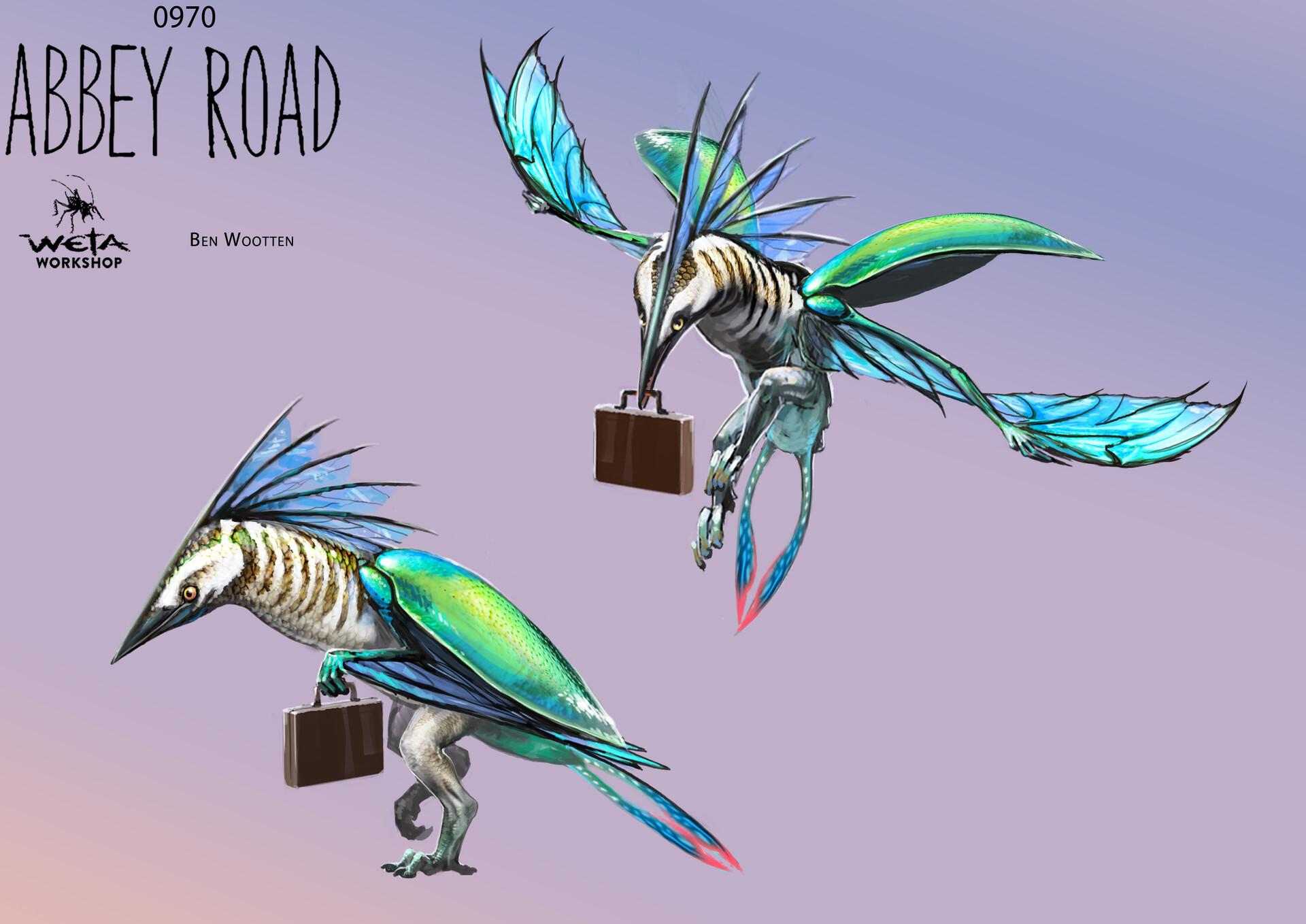 Birdman - Artist: Ben Wootten