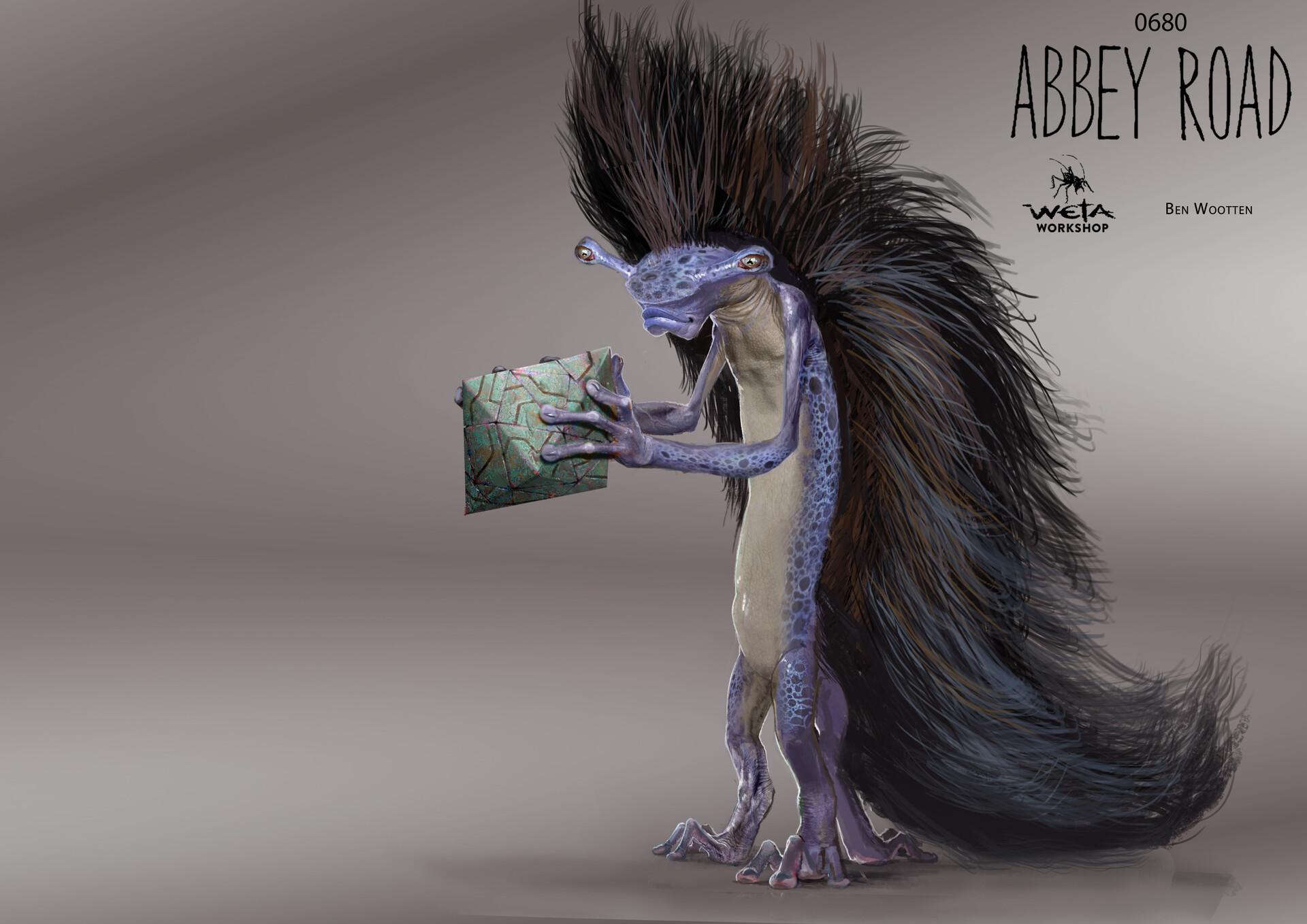 Bassam Creature - Artist: Ben Wootten