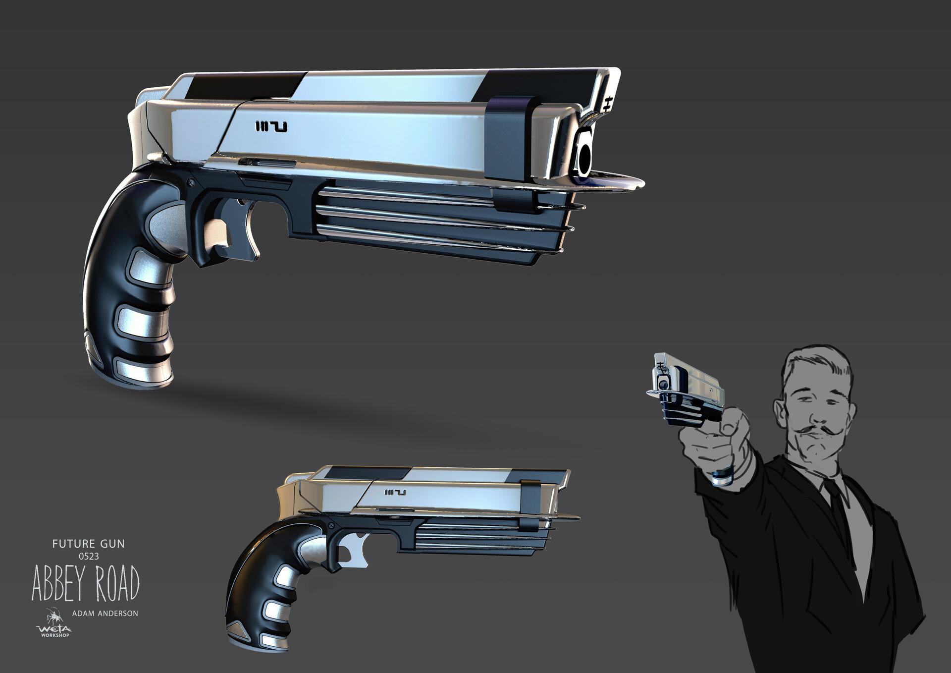 Handgun - Artist: Adam Anderson