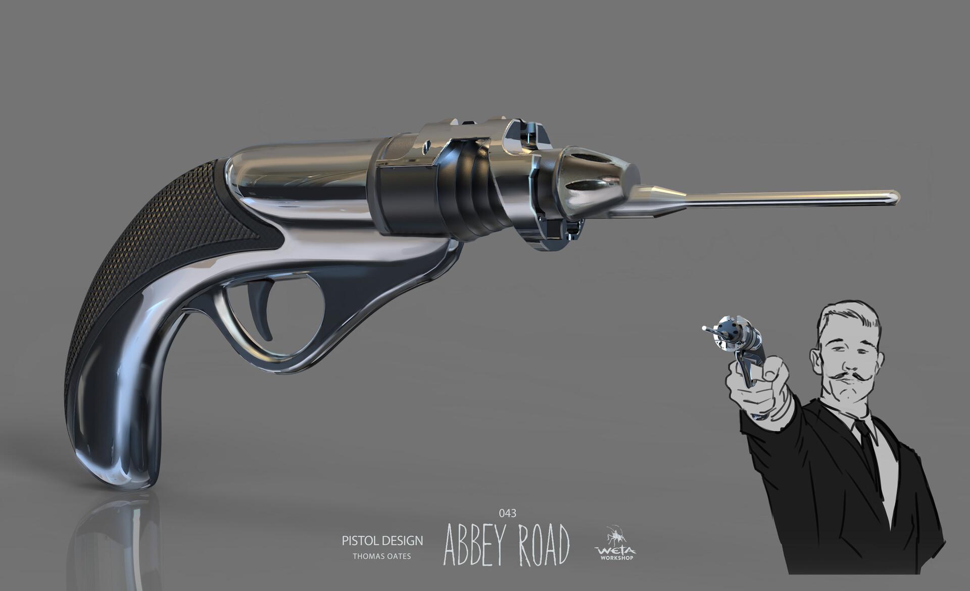 Pistol - Artist: Thomas Oates