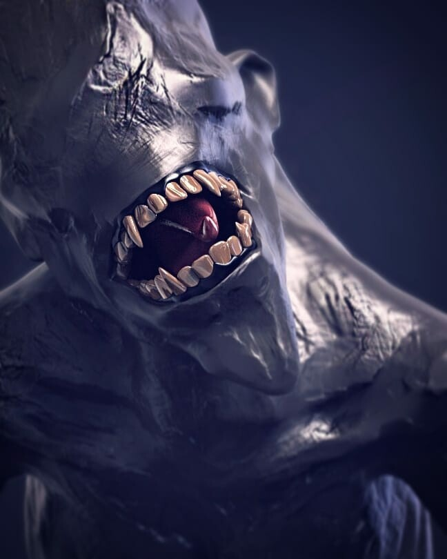 Cave-Crawler One of my free time Digital Sculpting study.  Background music- #hanszimmermusic