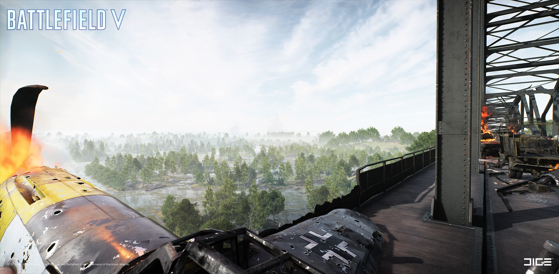 ArtStation - Battlefield V - Twisted Steel, EA DICE