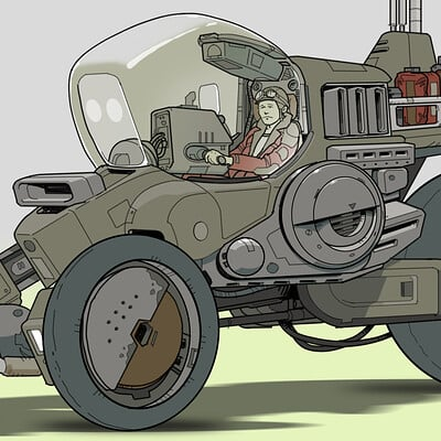 Paul adams trike vehicle 002