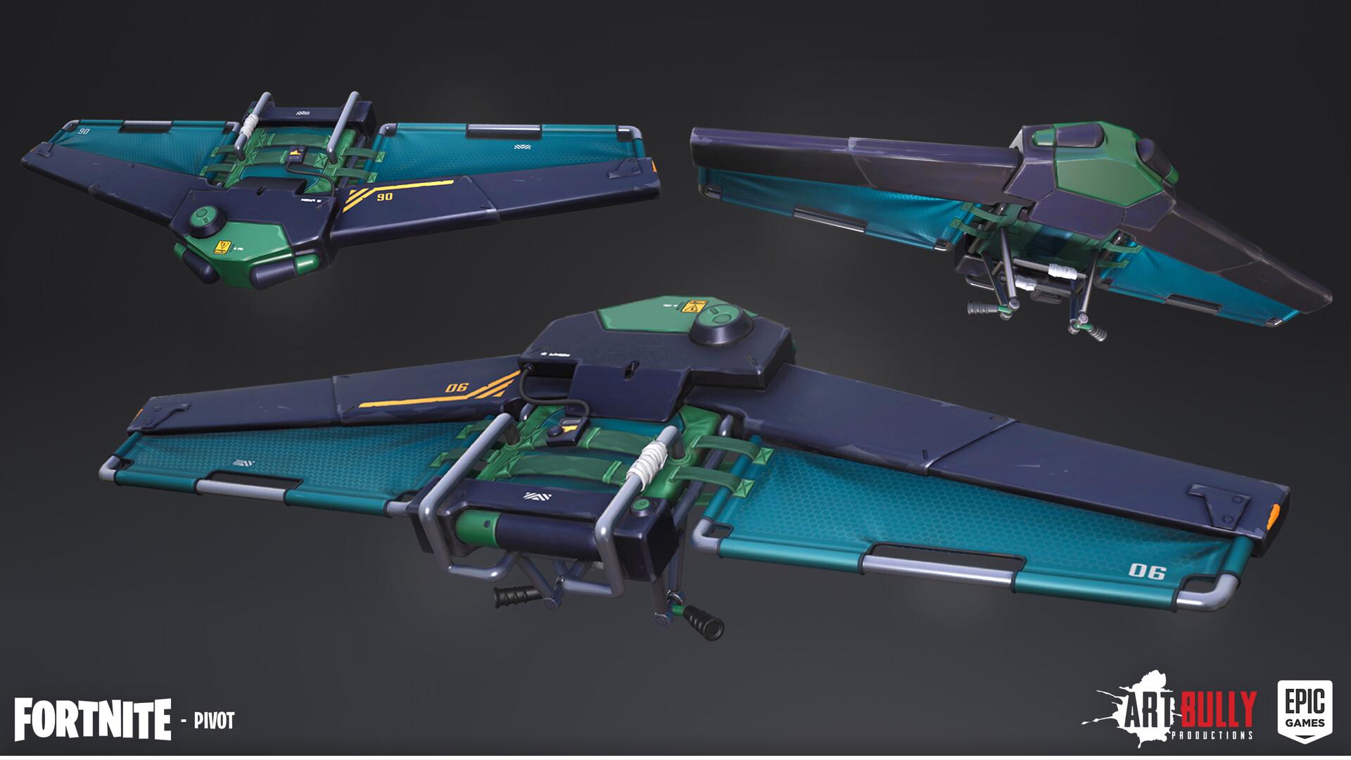 Patrick nuckels glider pivot render texture