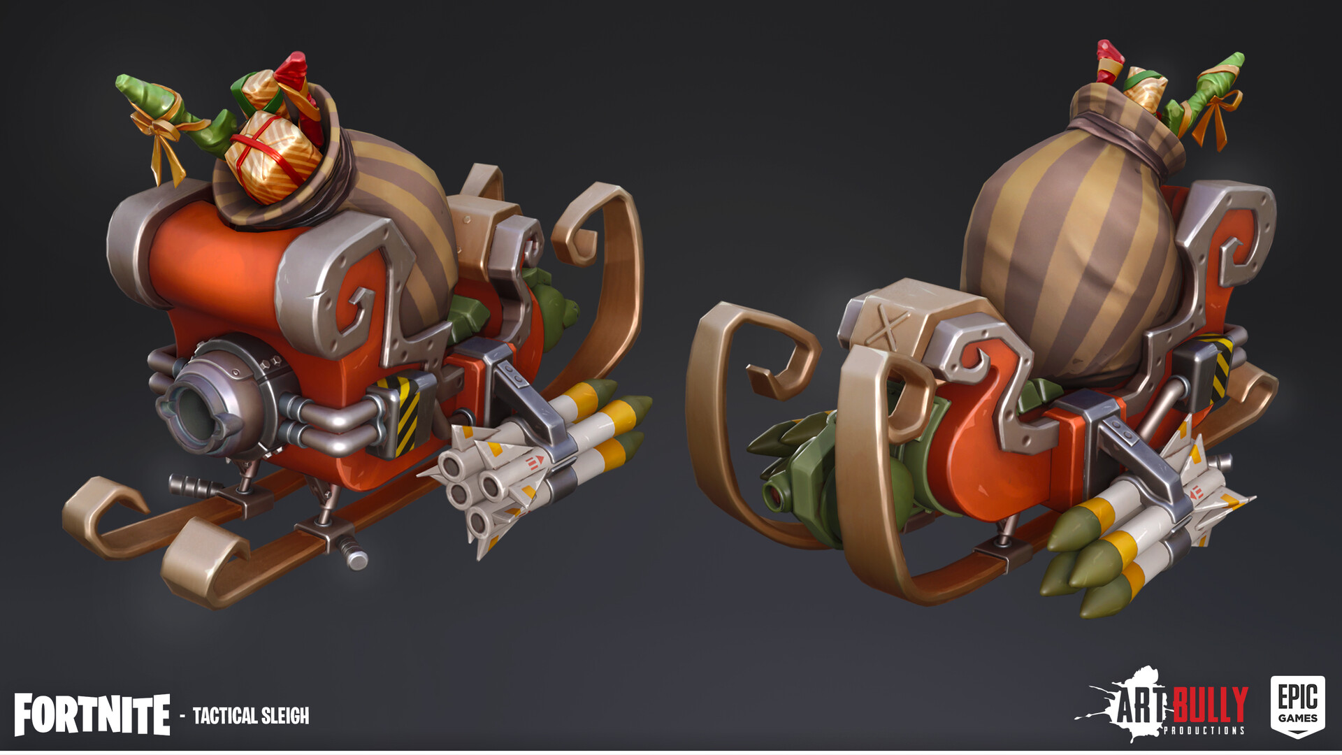 Patrick nuckels glider tactical sleigh render texture