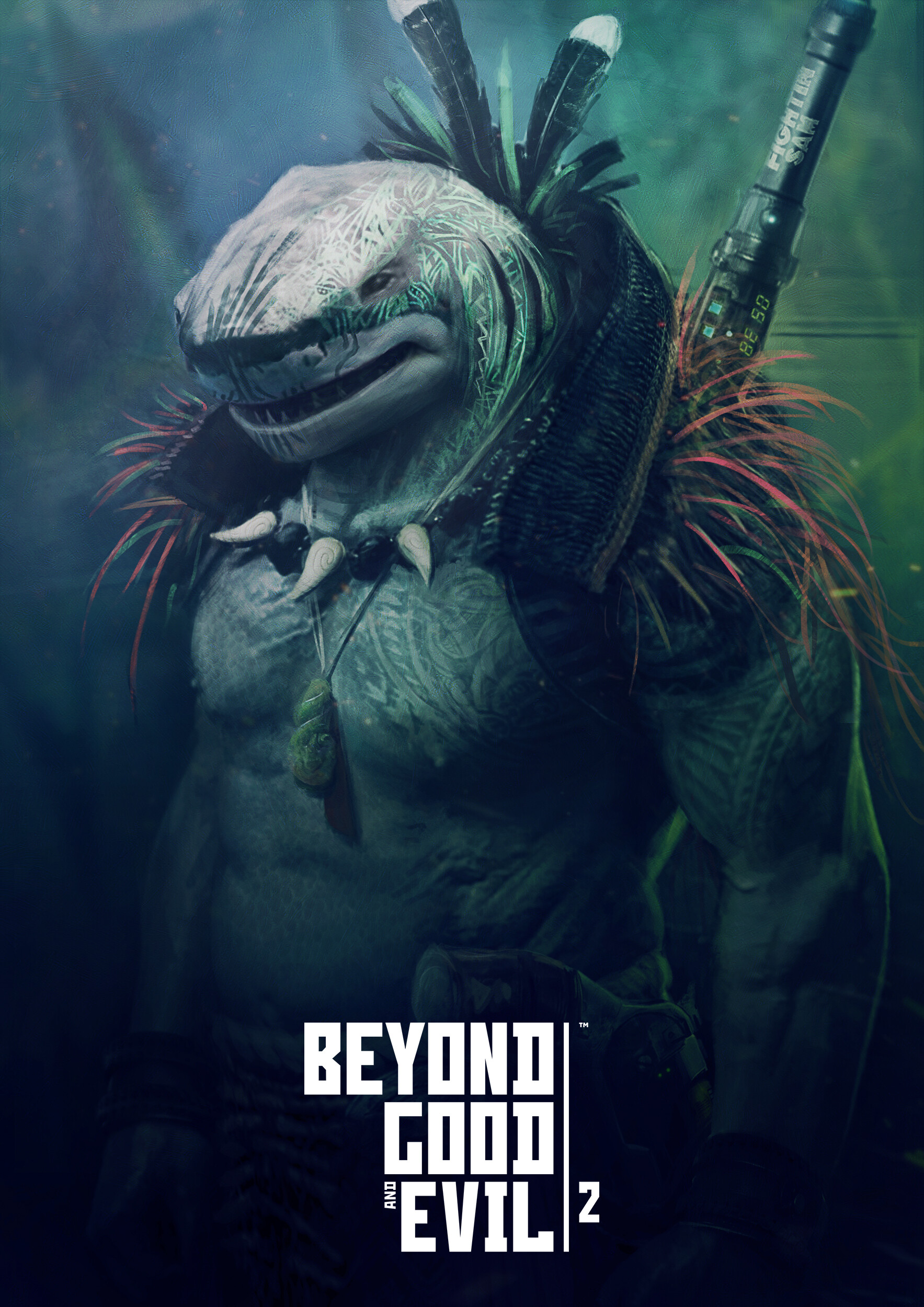 Artstation Beyond Good And Evil 2 Shark Guillaume Arvieu