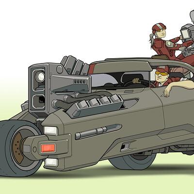 Paul adams trike vehicle 005