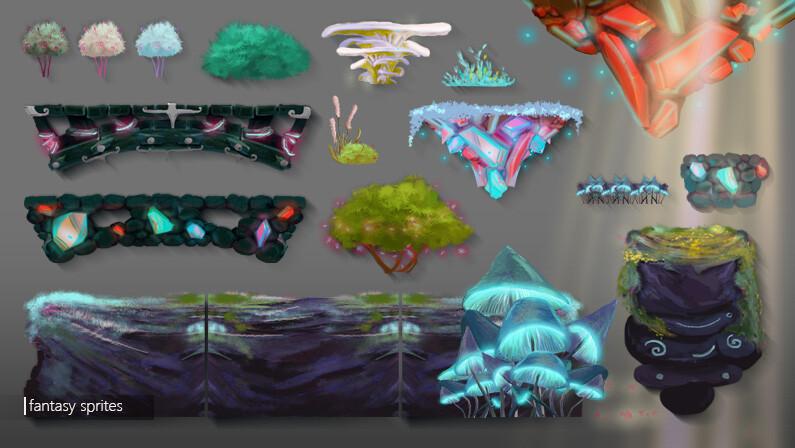 Fantasy Level Elements