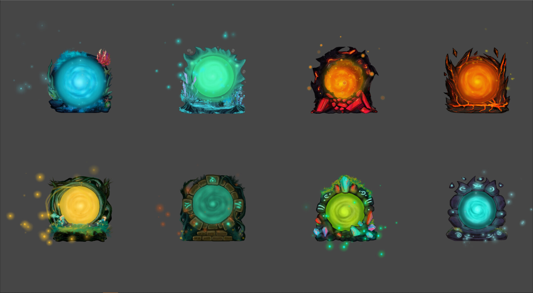 Animated Portals
