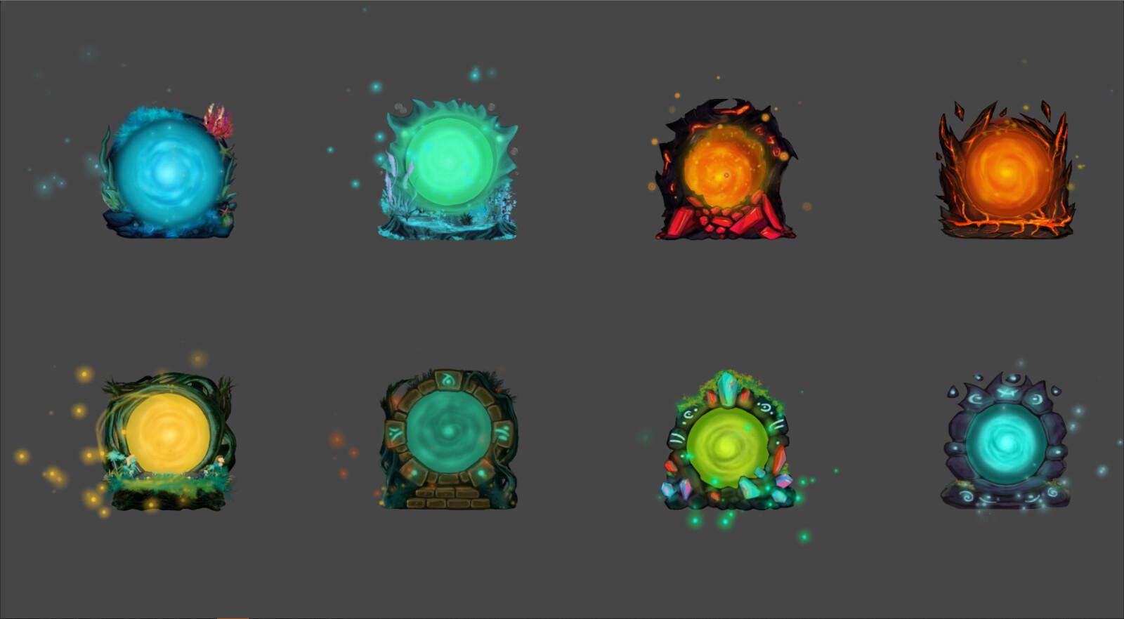 Animated Portals