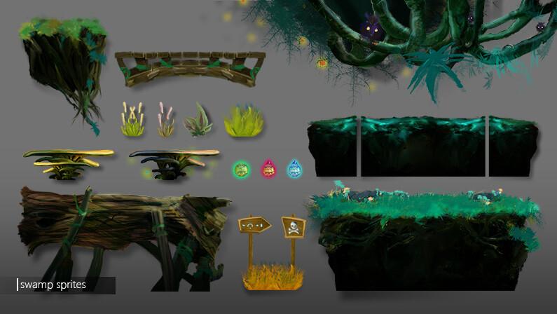 Swamp Level elements