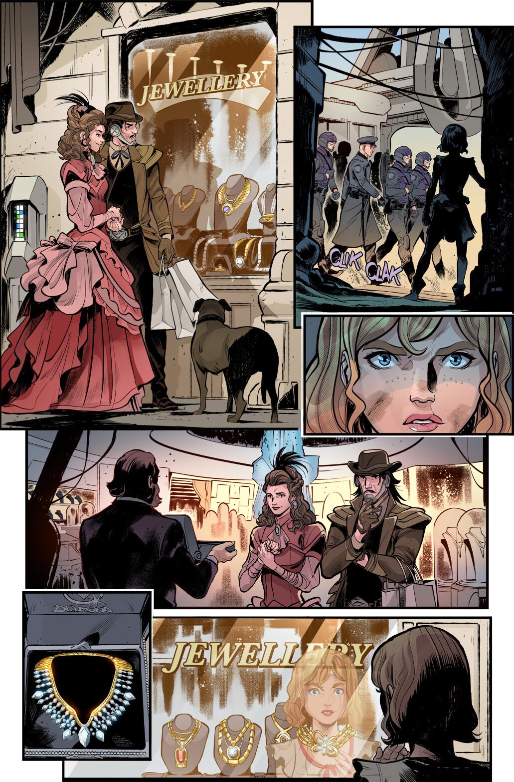 Firefly: Bad Company, Page 1