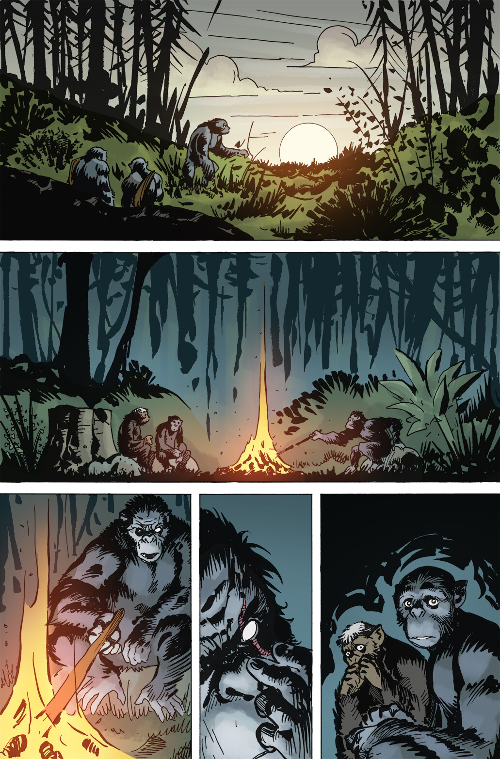 Planet of the Apes: The Simian Age, Page 8