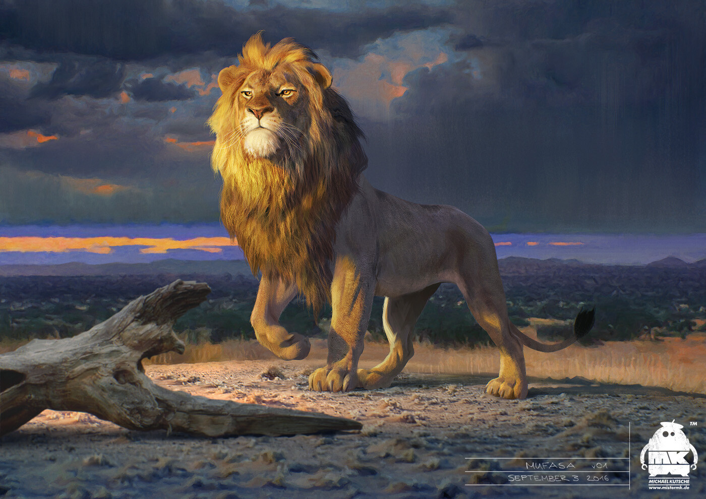 The Lion King Concept Art Reveals A Cartoon Accurate Scar