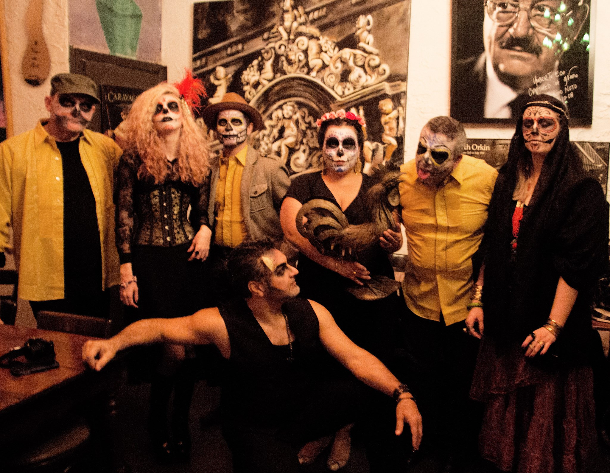 The day of the Dead performance at Grano, Toronto.