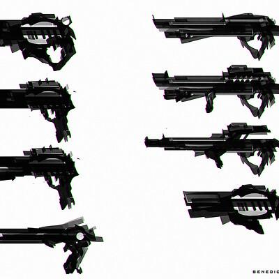 Benedick bana guns set a lores