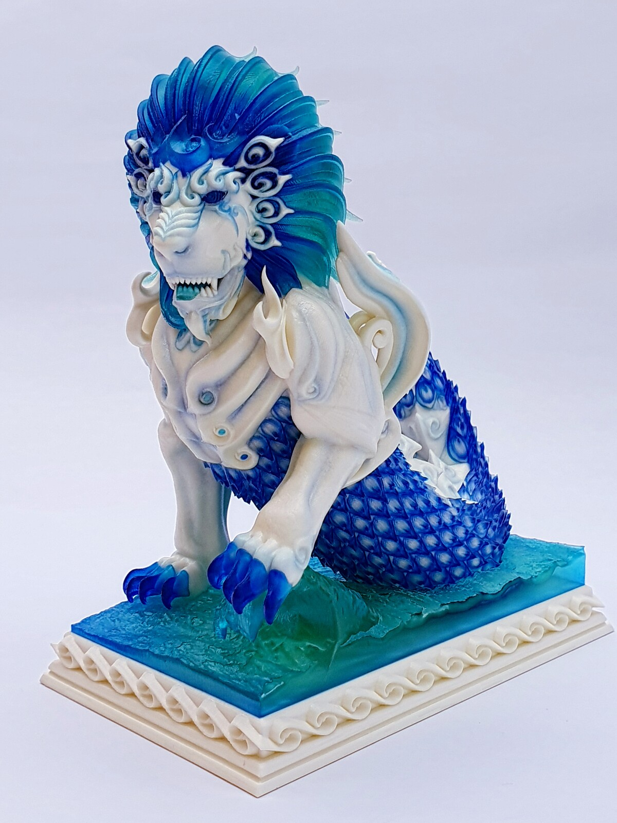 """""""The Guardian of Land and Sea"""" small version"""