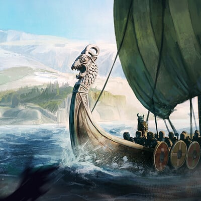 Tom p mackintosh viking done